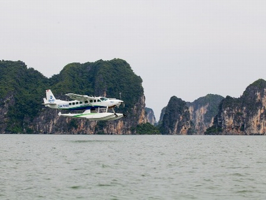 How to visit Halong bay by air