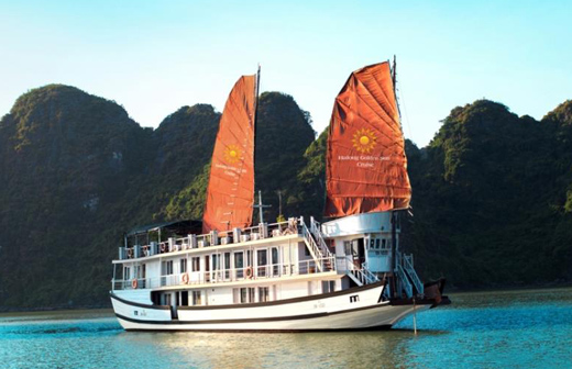 Halong Apricot cruise 2 days 1 night