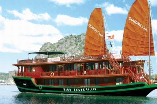 Halong dugong-sail cruise 2 days 1 night