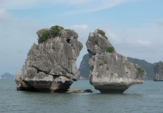 Halong bay islands and islets