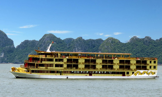 Halong Golden 9999 cruise