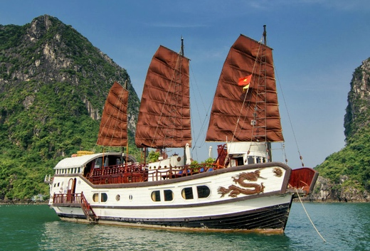 Halong helios cruise 2 days 1 night