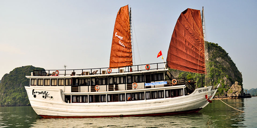 Halong Image cruise 2 days 1 night