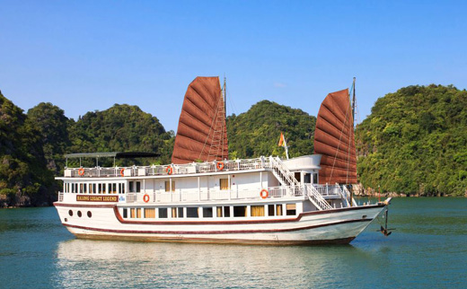 Halong legacy cruise 3 days 2 nights