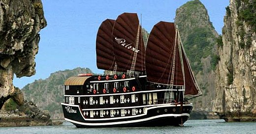 Halong paloma cruise 2 days 1 night