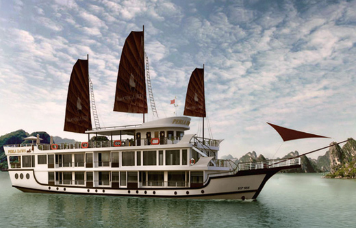 Halong Perla Dawn cruise