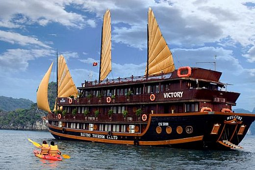 Halong Victory cruise
