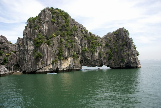 Yen Ngua islet in Halong bay